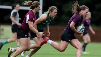 In Pics: Ireland Women's Squad Training At Fota Island