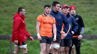 Earls And Nash Named In Munster's Back-Line For Belfast