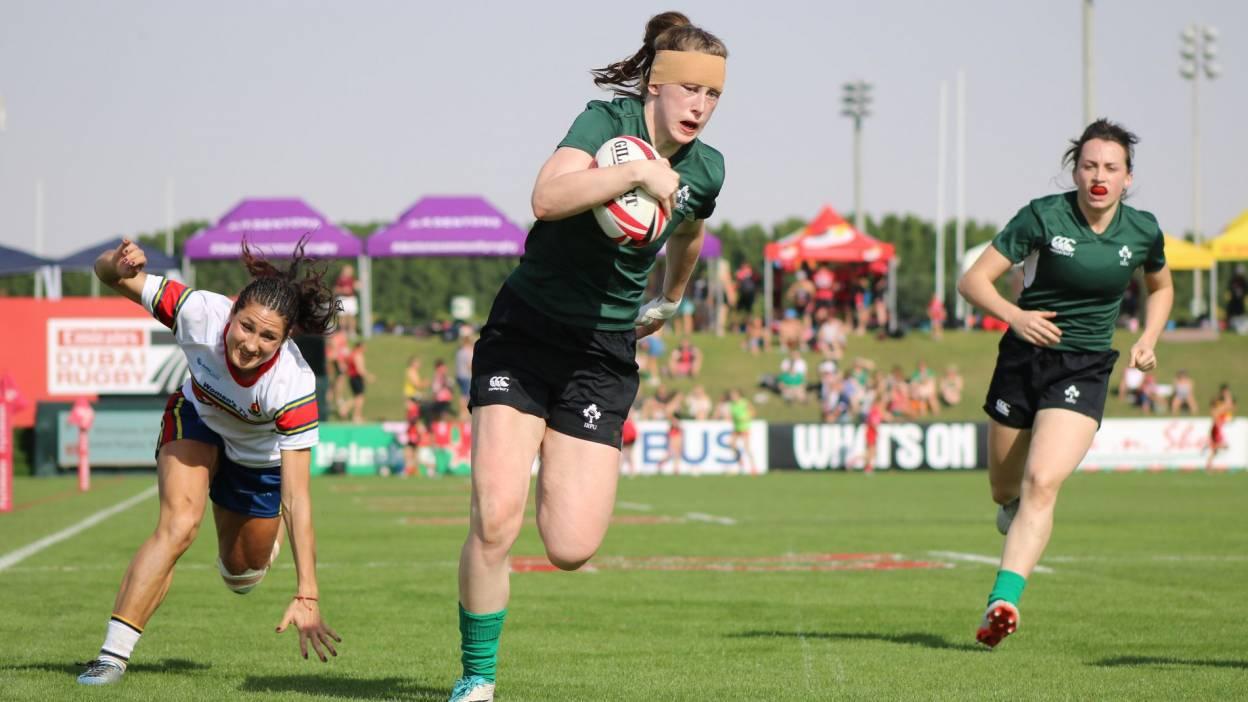 Ireland Women's Sevens Development Team Finish As Runners-Up In Dubai