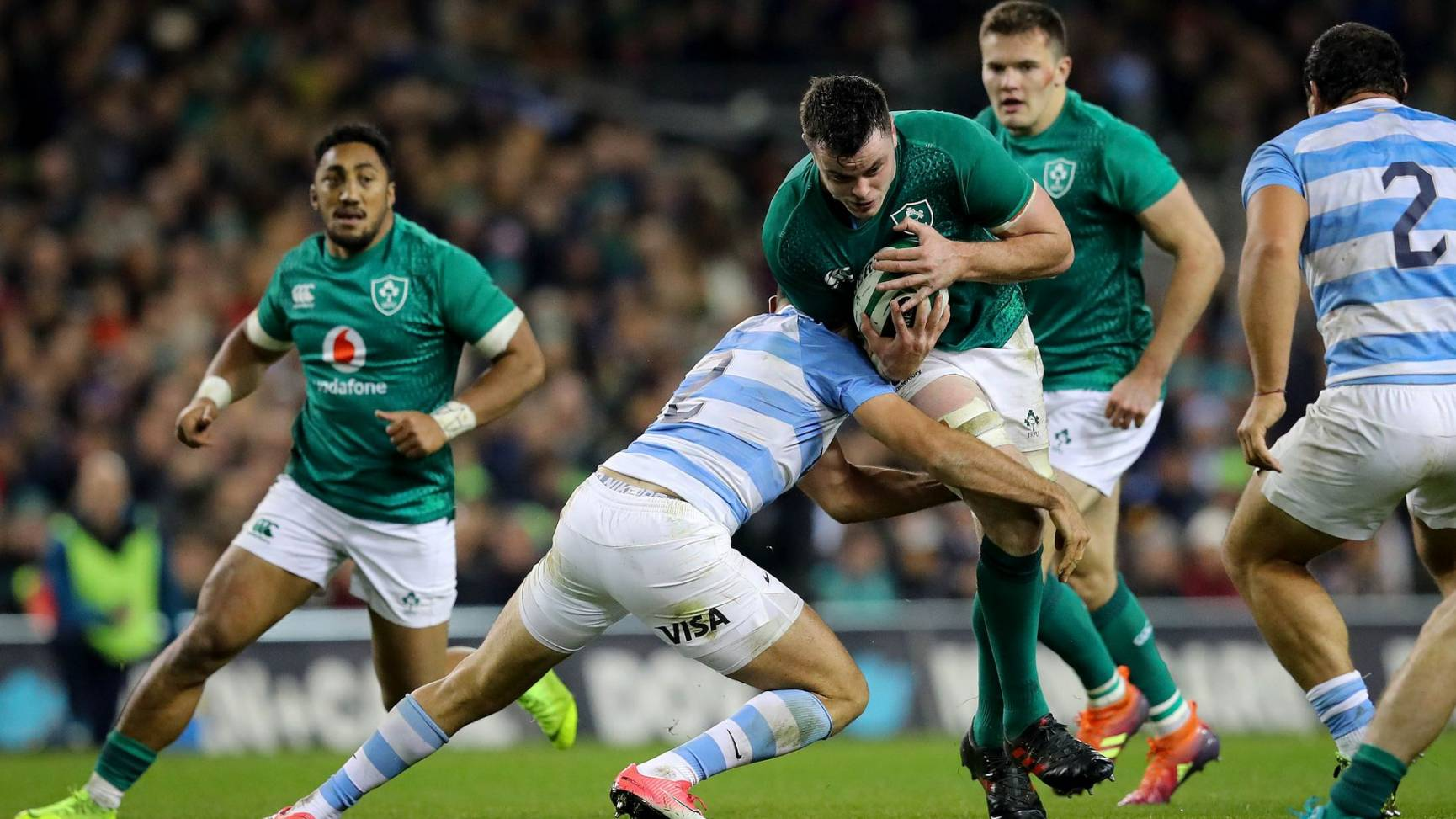 Ireland Set New Home Record With Solid Victory Over Pumas