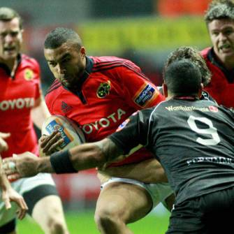 Munster Beaten In Bruising Heavyweight Clash