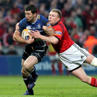Strong Finish Helps Leinster Win Scrappy Derby