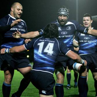 Two-Try Leinster Back On Top