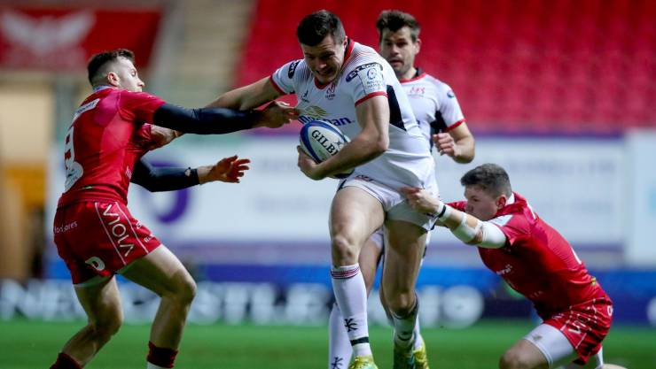 Ulster Excel As Four-Try Away Win Boosts European Hopes