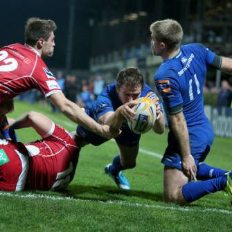 Bonus Point Victory Sends Leinster Up To Second
