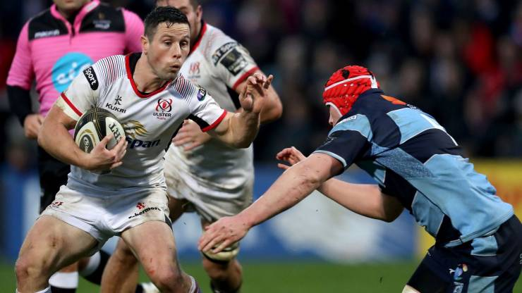 Cooney Kicks Ulster Back To Winning Ways