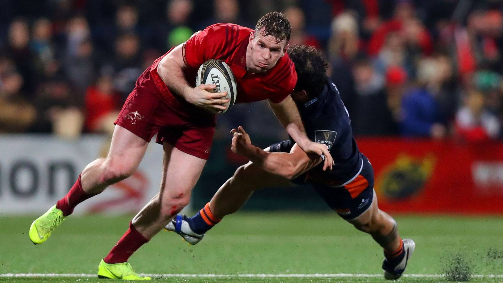 Earls And Farrell To The Fore As Munster Hit Edinburgh With Eight Tries
