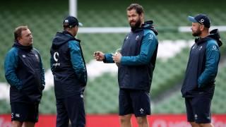 Ireland coaching team