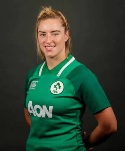 Ireland Women's Rugby Headshots 5/10/2019 Edel McMahon Mandatory Credit ©INPHO/Ryan Byrne