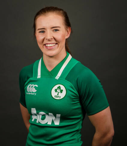 Ireland Women's Rugby Headshots 5/10/2019 Claire McLaughlin