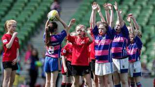Minis girls rugby