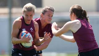 Ireland Women's 7s training