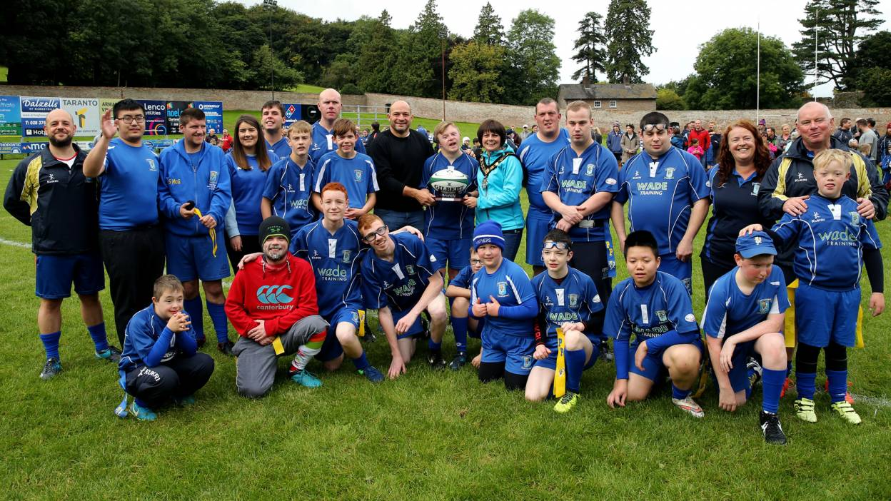 A rugby team for players with learning difficulties