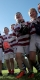 Minis Rugby players form a huddle