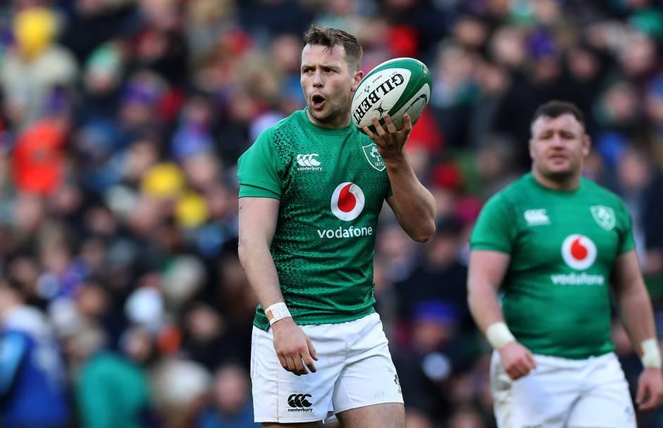Guinness Six Nations Championship Round 4 Aviva Stadium Dublin 10/3/2019 Ireland vs France Ireland's Jack Carty Mandatory Credit ©INPHO/Billy Stickland