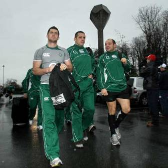 Ireland Squad Training At Belfield, UCD, Tuesday, January 29, 2008