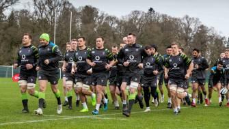 Ireland Squad Training At Carton House, Maynooth, Co. Kildare, Tuesday, January 30, 2018