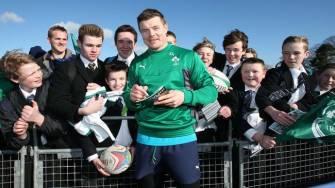 #BehindTheGreen: Ireland Squad's Open Training Session In Belfast