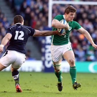 Kidney And O'Driscoll Reflect On Edinburgh Win