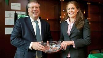 Irish Rugby TV: Irish Ambassador To France Visits Ireland Camp