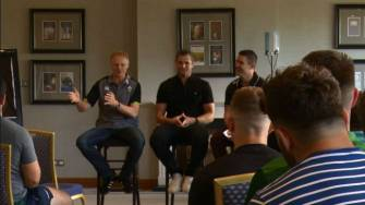 Irish Rugby TV: New Academy Players Attend 'Rookie Camp'