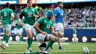 Irish Rugby TV: Ireland v Italy Tunnel Cam At Soldier Field