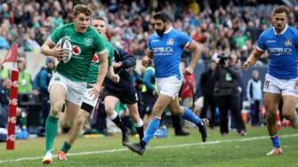 Irish Rugby TV: Ireland v Italy Rugby Weekend Highlights
