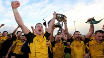Ashbourne celebrate winning the All-Ireland Junior Cup