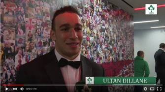 Irish Rugby TV: Ultan Dillane On Making His Ireland Debut