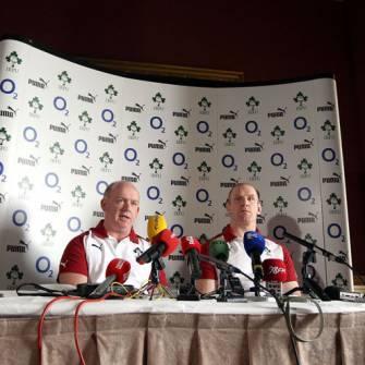 Irish Rugby TV: Ireland Team Announcement