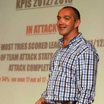 Irish Rugby TV: Conor O'Shea At IRFU The National Coach Conference