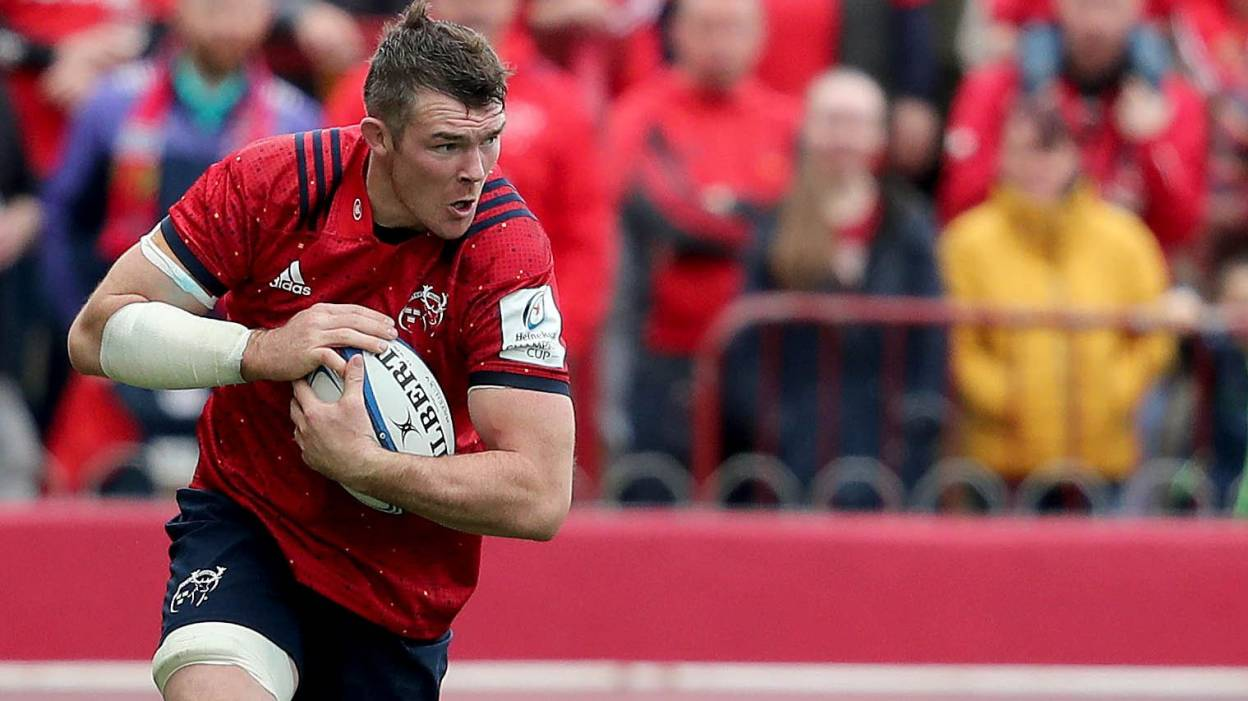 O'Mahony Passed Fit To Lead Munster Against Chiefs