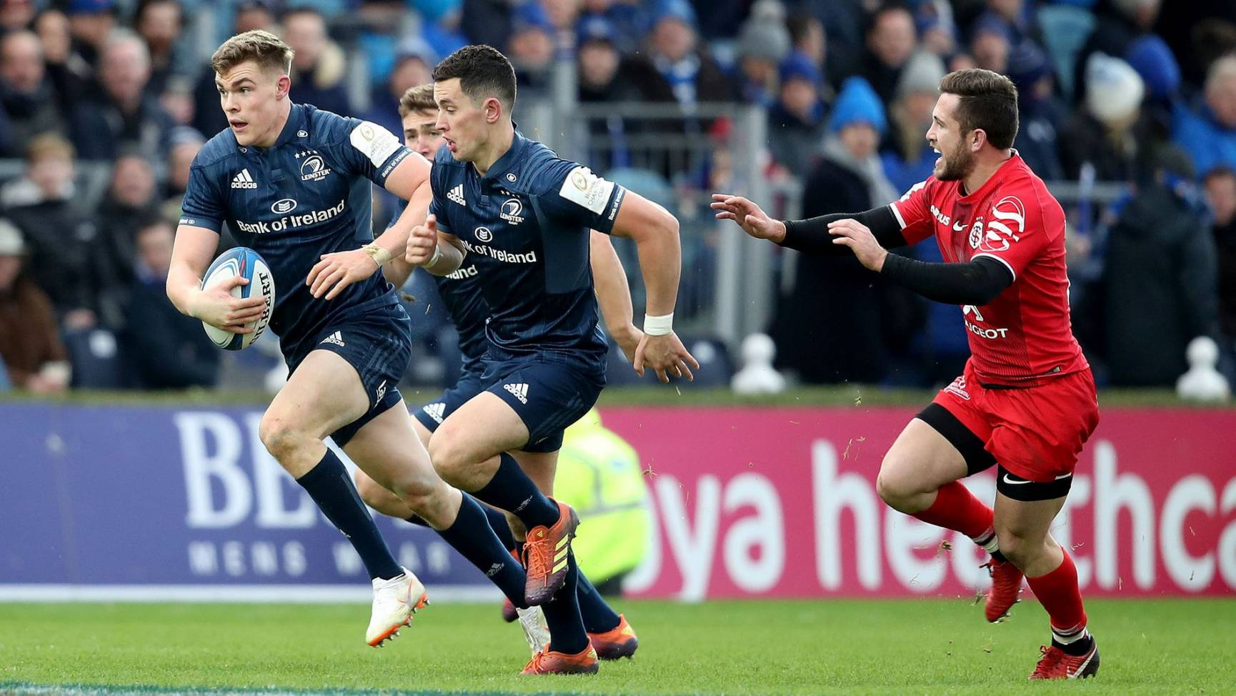 Four-Try Leinster Topple Toulouse To Regain Top Spot