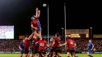Beirne And Carbery Stand Out As Munster Take Down 14-Man Leinster