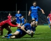 Barry Daly scores for Leinster against Scarlets