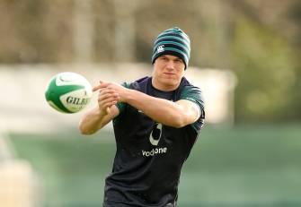 Ireland Training At Carton House Ahead Of Six Nations Opener