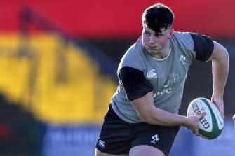 Ireland Under-20s' Captain's Run At Irish Independent Park