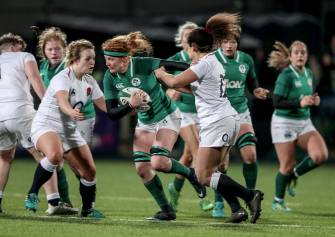 Record Crowd Watches Ireland Women Lose To Clinical England