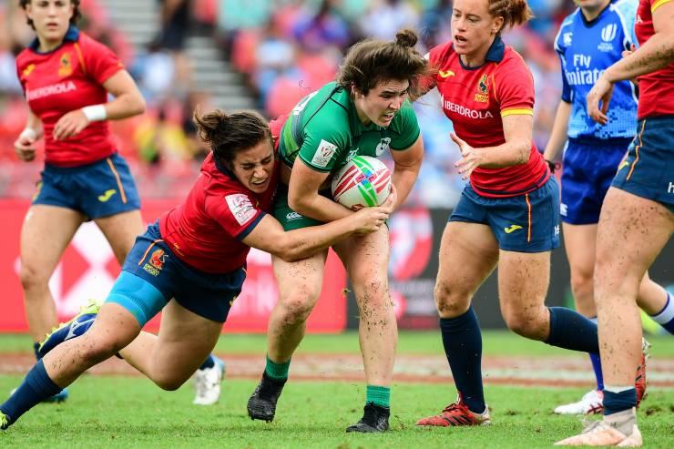 Ireland Women Make Sevens Series History In Sydney