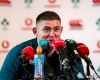 Tadhg Furlong at the Ireland media press conference on Tuesday