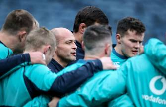 Rory Best at Captain's Run