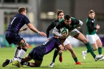 Irish Rugby TV: Ireland Club XV v Scotland Clubs Highlights