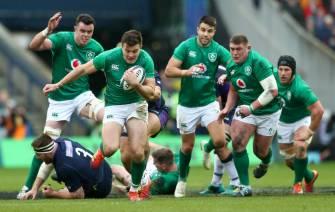 Highlight from Scotland v Ireland