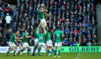 Ireland's Dogged Display Sees Off Scottish Challenge