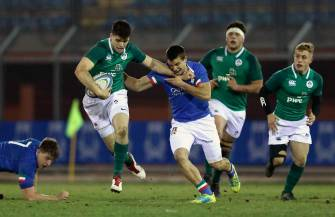 Ireland Under-20s Stay Top After Bonus Point Raid In Rieti