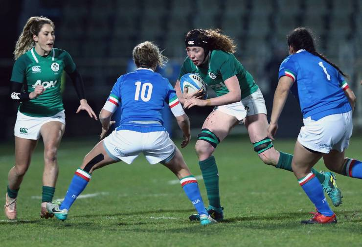 Considine Claims Brace But Ireland Women Edged Out By Inspired Italy