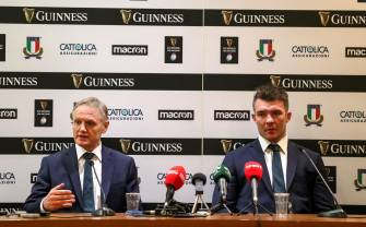 Irish Rugby TV: Ireland's Post Match Press Conference In Rome
