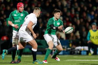 Ireland Under-20s To Kick Off World Championship Against England