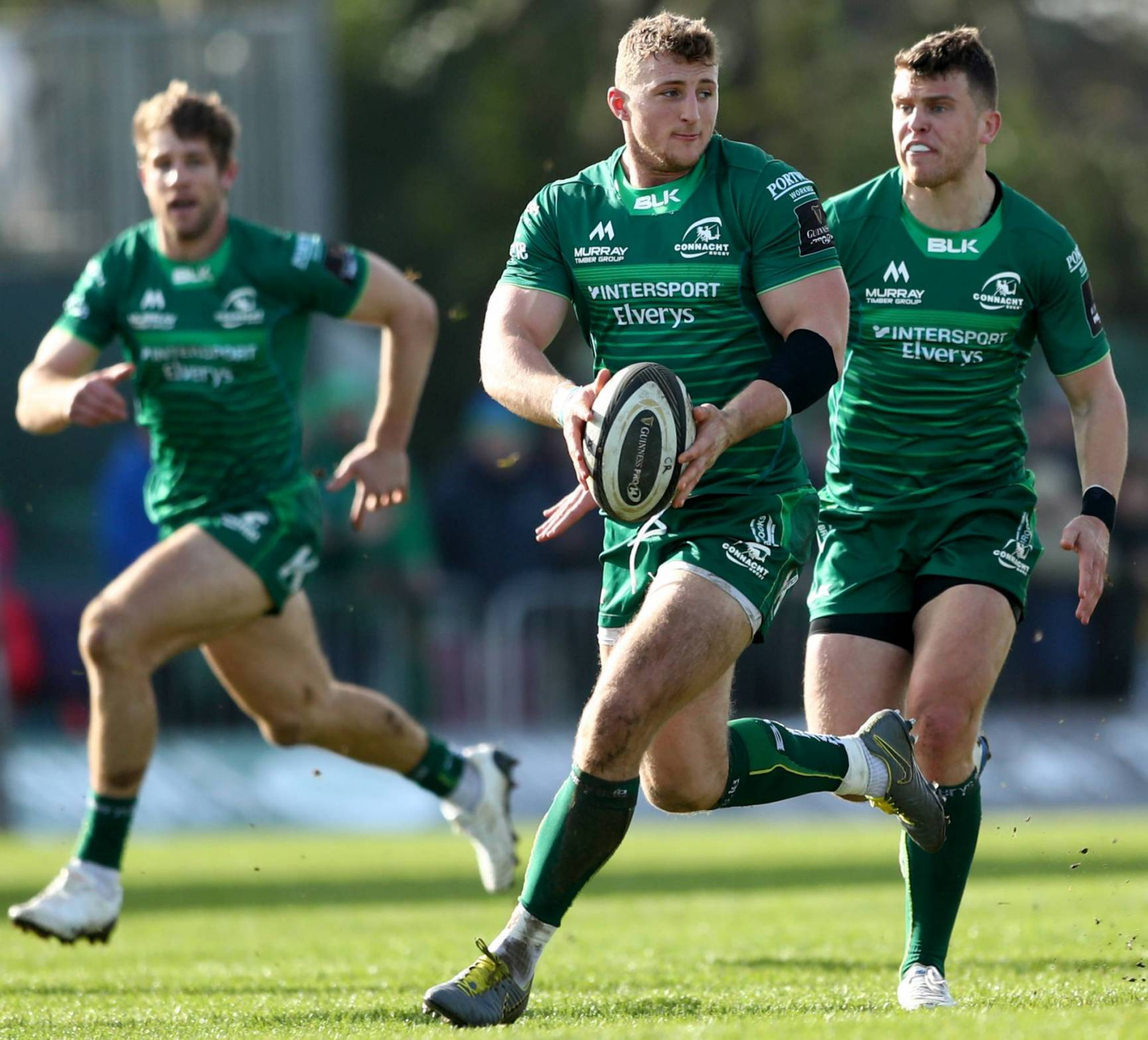 Connacht Reclaim Third Spot With Superb Six-Try Performance