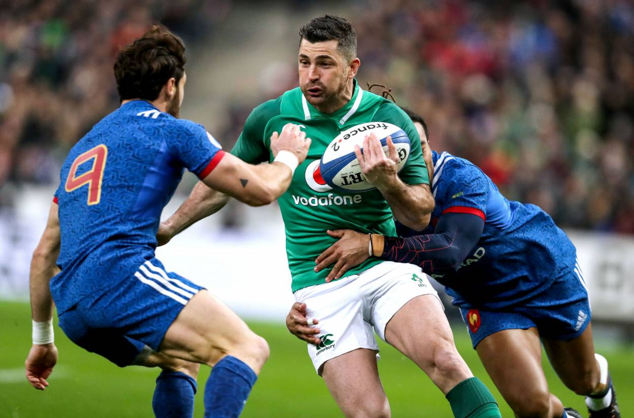 Ireland Make Seven Changes For France Match